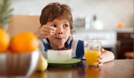 Η διατροφή του καλού μαθητή
