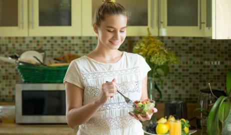 Οι φυτικές ίνες «ασπίδα» ενάντια στον καρκίνο του μαστού για τις έφηβες
