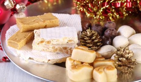 Feliz Navidad με Χριστουγεννιάτικα Ισπανικά γλυκά.