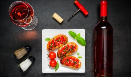 Κρασί, μεσογειακή διατροφή και υγεία