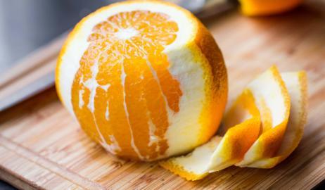 8 έξυπνες χρήσεις της φλούδας του πορτοκαλιού