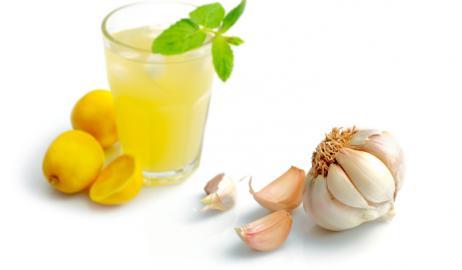 Χυμό λεμονιού με σκόρδο για την καρδιά