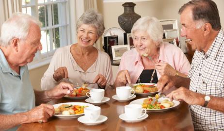 Η μεσογειακή διατροφή αποτρέπει τις ευπάθειες στους  ηλικιωμένους