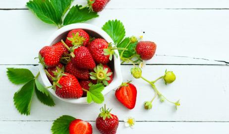 Οι φράουλες ίσως κρατούν το κλειδί για την καλή λειτουργία του εγκεφάλου και της μνήμης