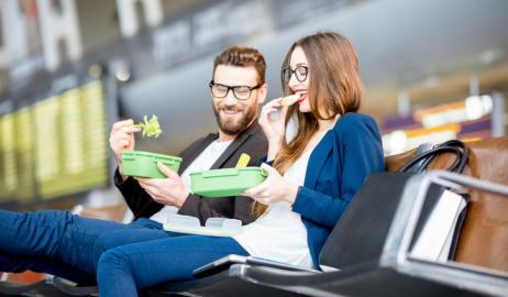 Σωστές διατροφικές επιλογές στο αεροδρόμιο