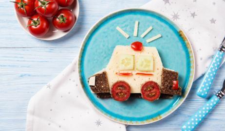 Τα παιδιά ενδιαφέρονται για το πώς σερβίρεται το φαγητό τους στο πιάτο;