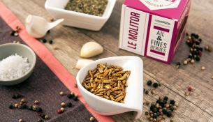 Σκουλήκια και γρύλοι στα ράφια αλυσίδας σούπερ μάρκετ στην Ισπανία
