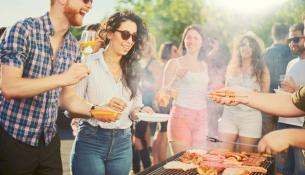 Το δέρμα μπορεί να απορροφά επιβλαβείς ενώσεις από τον καπνό του BBQ