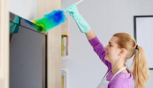 Μήπως φταίει η σκόνη στο σπίτι μας που παχαίνουμε;