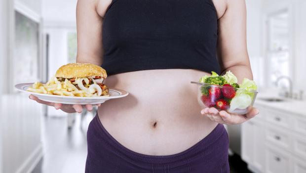 Πρόχειρο φαγητό και εγκυμοσύνη