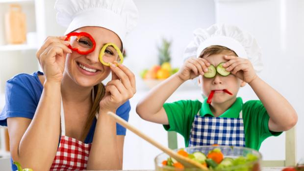 Μαθαίνουμε στα παιδιά να αγαπούν και να καταναλώνουν τα λαχανικά
