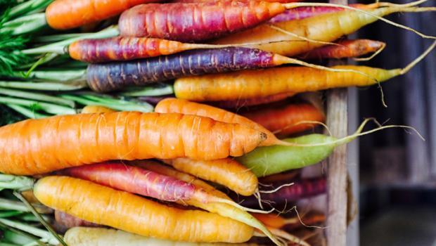 Γνωρίζατε ότι τα καρότα δεν ήταν πάντα πορτοκαλί;